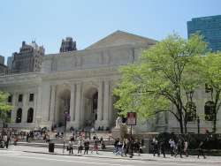 New York Public Library May 2011