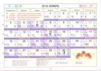 Астрологический календарь на Ноябрь 2018