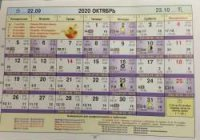 Астрологический календарь на Октябрь 2020