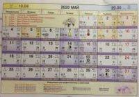 Астрологический календарь на Май 2020
