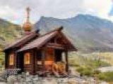 На Алтае сгорела самая высокогорная часовня