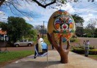 В Аргентині відкрили пам'ятник українській писанці